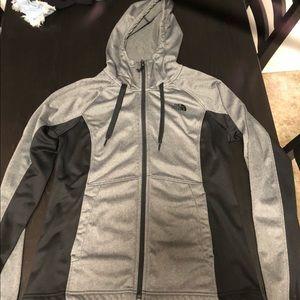 North Face Funnel Neck Zip Up Jacket